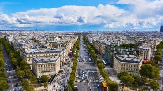 champes elysees, paris school french trip edventure travel